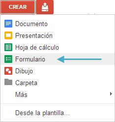 Evaluacion De Logro Como Crear Formularios En Google Drive