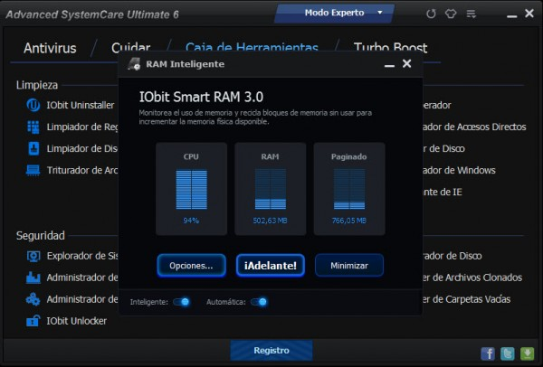 Exclusiva: Advanced SystemCare Ultimate 6