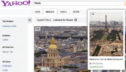 Yahoo integra Flickr en sus resultados de búsqueda de imágenes