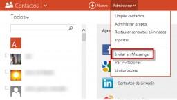 Añadir nuevos contactos de Messenger a Skype