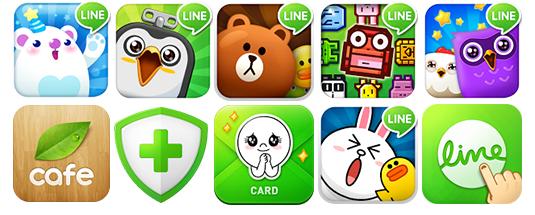 Apps de LINE