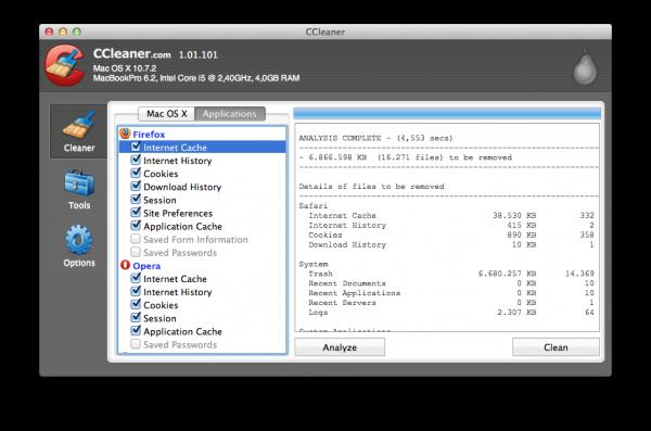 CCleaner ahora también limpia tu Mac