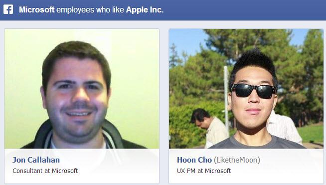 Empleados de microsoft a los que les gusta Apple