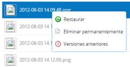 Cómo recuperar archivos eliminados de Dropbox