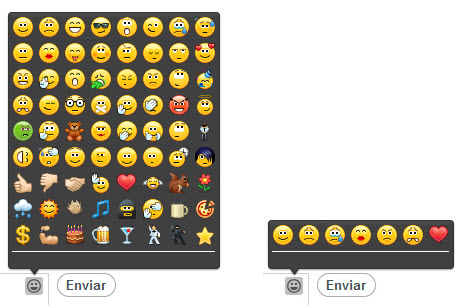 emoticonos Skype-Facebook