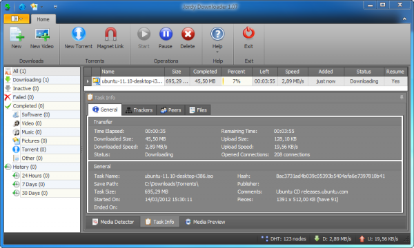 Descarga de todo con Jordy Downloader