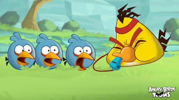 Angry Bird Toons disponible dentro de los juegos de Angry Birds