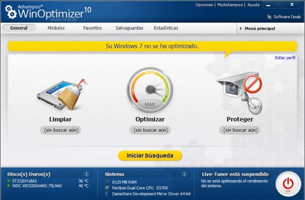 Ashampoo lanza WinOptimizer 10. ¡Gana una de las 25 licencias que sorteamos!