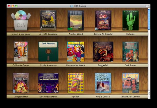Boxer, el emulador de DOS para Mac OS X