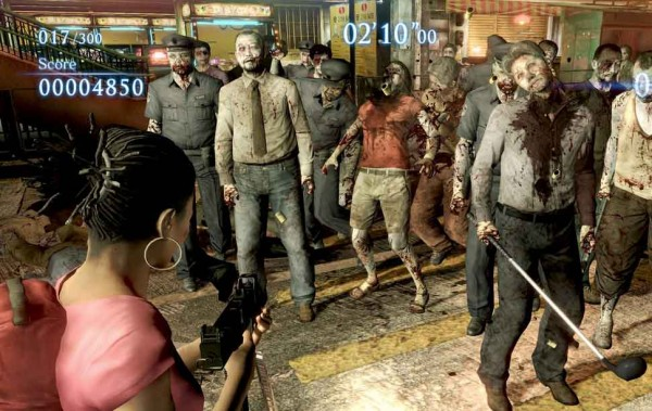 Resident Evil 6 Mercenarios
