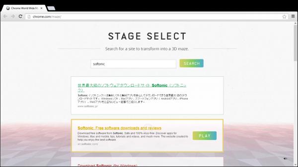 Convierte cualquier página web en un laberinto 3D