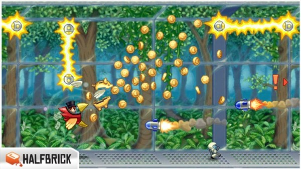 Jetpack Joyride on Windows 8