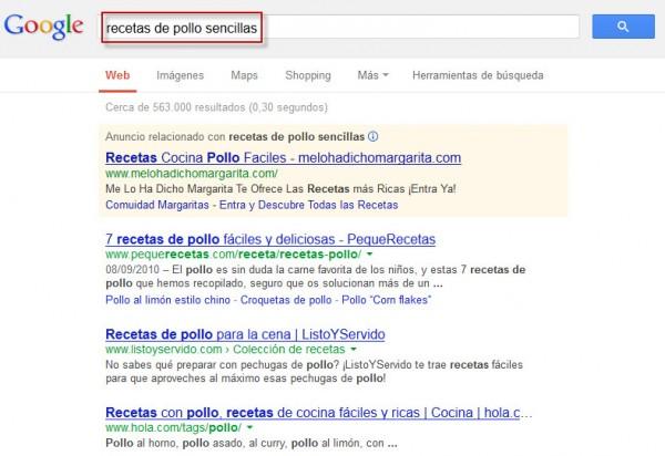 Google: Consejos para mejorar los resultados de búsqueda