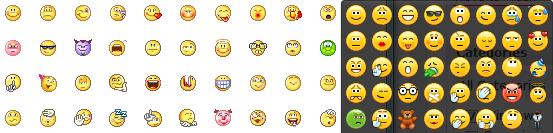 Emoticonos Skype y Yahoo
