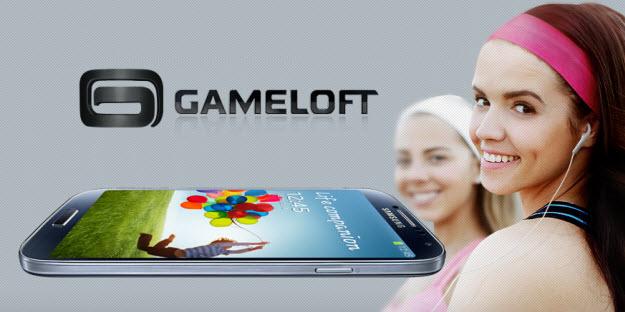 Gameloft adapta sus mejores juegos para Samsung Galaxy S4