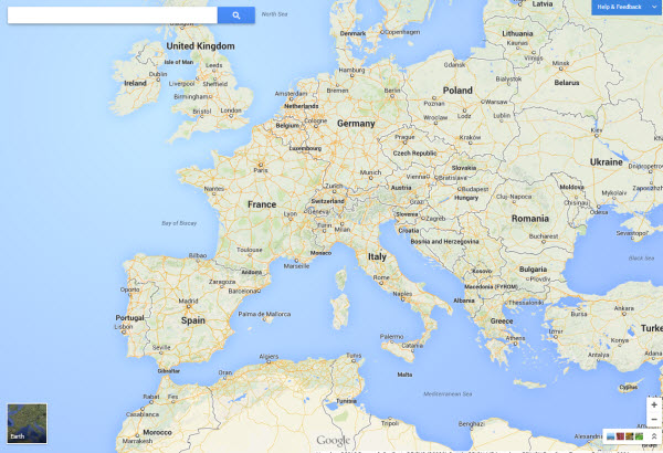 Karta 2019 Google Karta Na Evropa