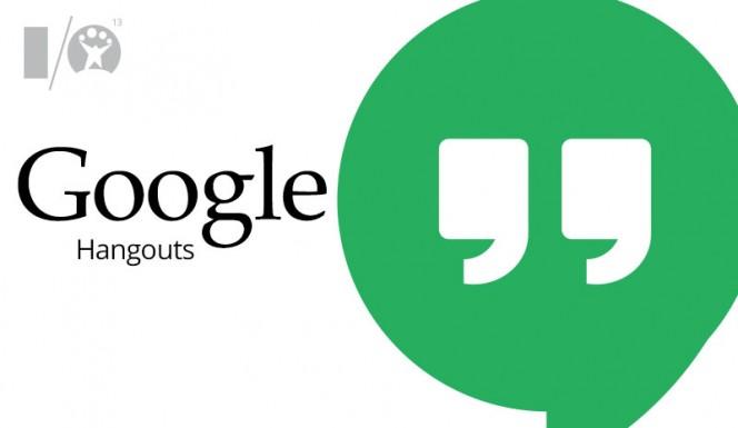 Google Hangouts presentado en Google IO