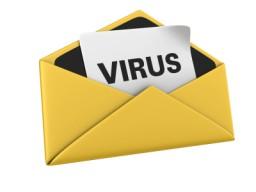 Un correo que contiene virus...