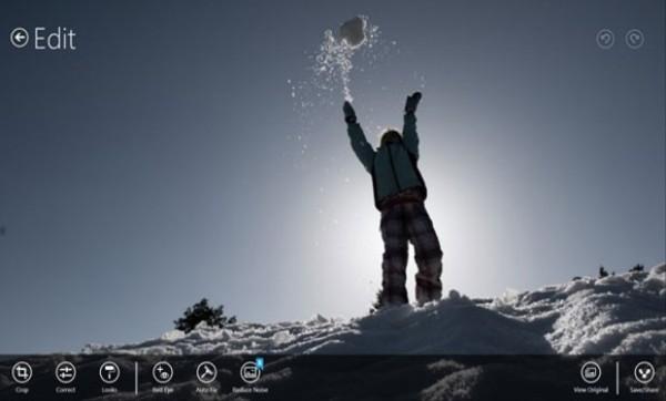 Photoshop Express disponible en Windows 8