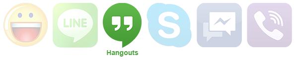 Registro - Hangouts