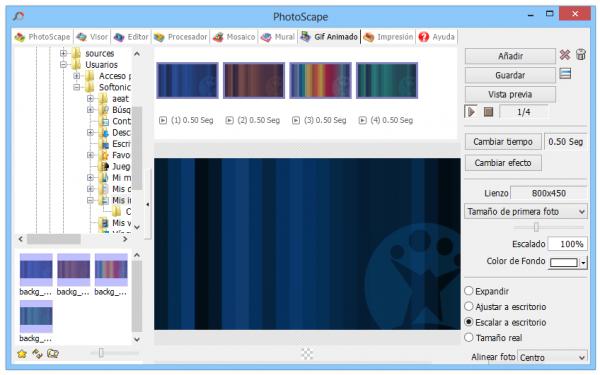 Cómo crear un GIF animado con Photoscape