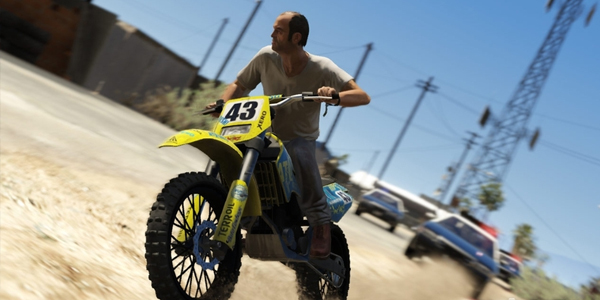GTA 5 coches motos