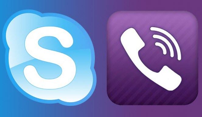 Comparativa: Viber vs. Skype. ¿Cuál es mejor para videollamadas?