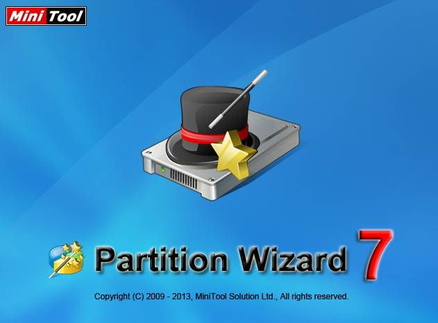 Partion Wizard 7