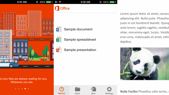 Microsoft Office Mobile para iOS: lo hemos probado