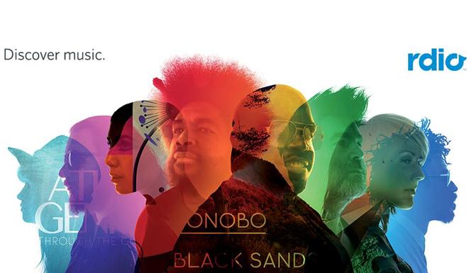 Rdio llega a Chile y Colombia antes que Spotify
