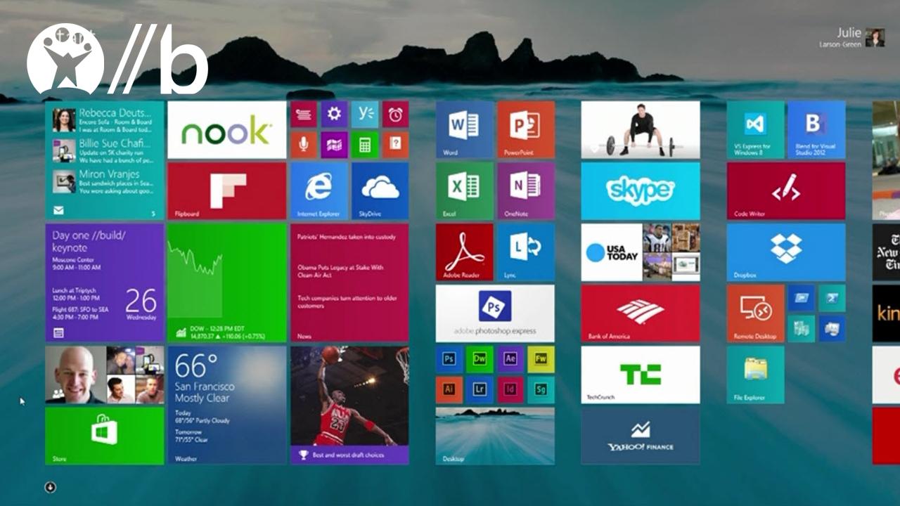 Microsoft Build 2013: Windows 8.1, Office 2013 RT y otras novedades