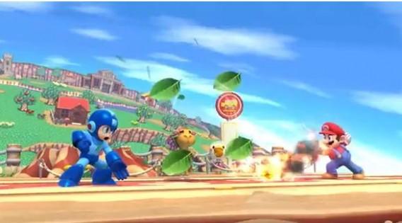 Smash Bros Wii U