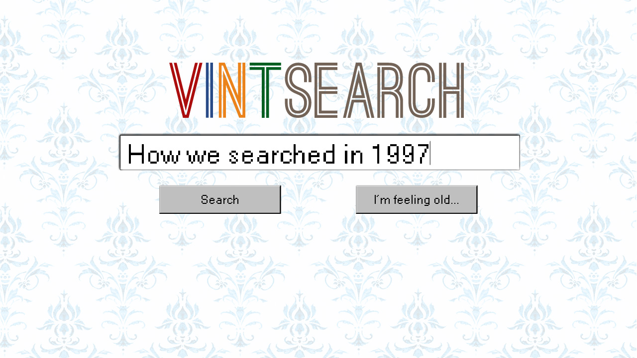 Los buscadores antes de Google