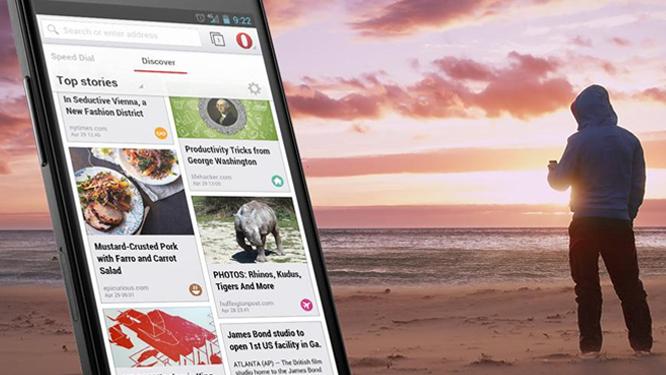 Opera 15 llega a Android