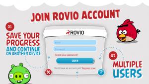 Rovio Accounts permite recuperar partidas de Angry Birds y otros juegos entre dispositivos