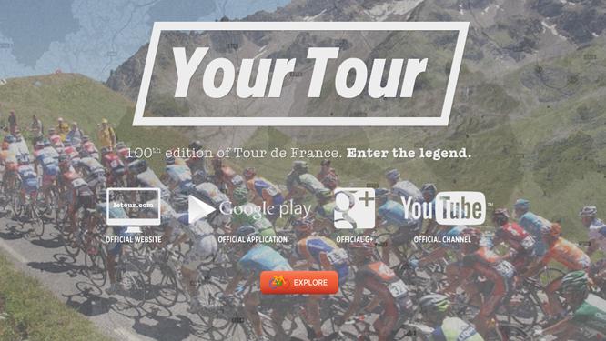 Google lanza una página interactiva para explorar el Tour de Francia