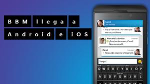 BlackBerry Messenger llegará a Android en septiembre; la fecha para iPhone sigue en el aire