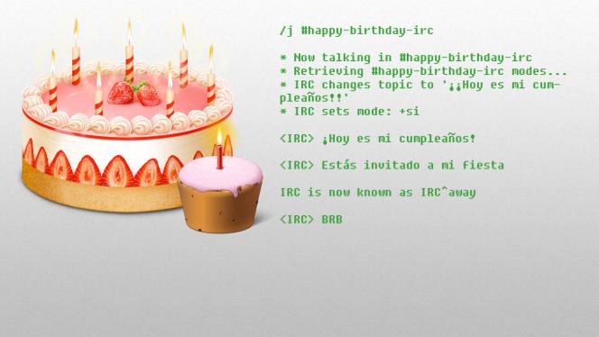 10 recuerdos del IRC en su 25 cumpleaños