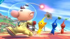 Smash Bros de Wii U saca nueva imagen: Los Pikmin ganan a Mega Man