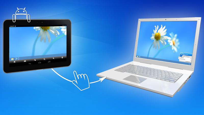 Usa Windows 8 en una tablet Android con TeamViewer