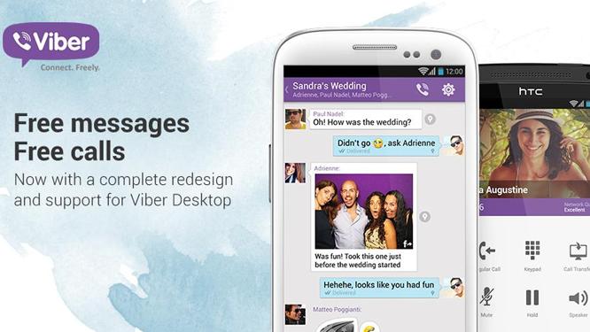 Actualización de Viber para Windows, Mac y Windows Phone 8 con stickers