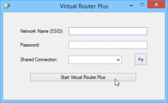 hotspot wifi con virtual router plus