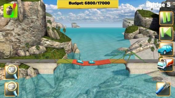 Crie pontes seguras em Bridge Construtor