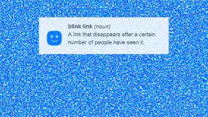 BlinkLink: comparte fotos con fecha de caducidad