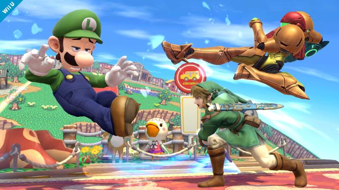 Smash Bros. de Wii U muestra primeras imágenes de Luigi