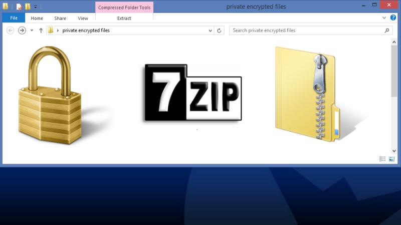 Protege tus datos con archivos ZIP cifrados