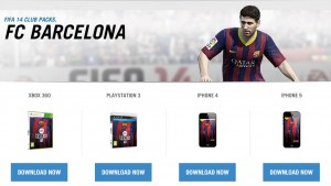 FIFA 14: un regalo gratuito para los fans del Barça