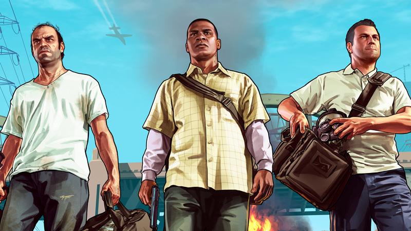 Los diez primeros minutos de juego de GTA V