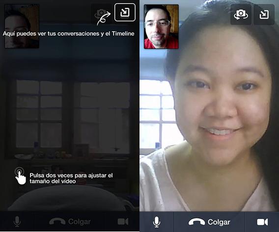 Videollamada en Android
