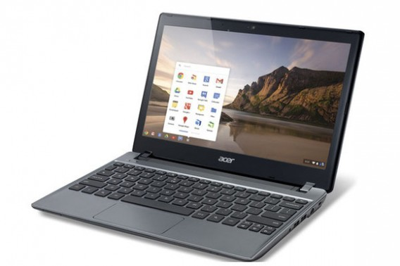 Chromebook da Acer é um dos beneficiados com os apps do Chrome